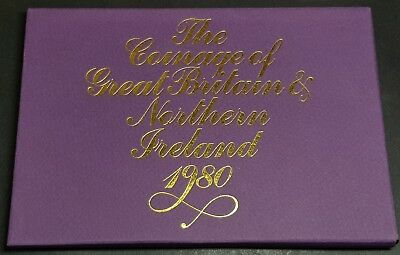 1980 Royal Mint Coinage of Great Britain and Northern Ireland Proof Coin Set