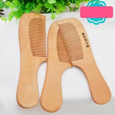 1Pcs Safety Soft Wooden NewBorn Baby Hair Brush Set Infant Comb Grooming Shower