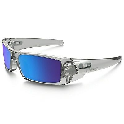3979dd01f0 Oakley Men s OO9014 Gascan Sunglasses Polished Clear   Sapphire Iridium Lens