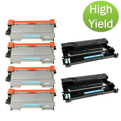 6pk TN450 Toner Cartridge for Brother MFC 7460DN 7860DW FAX 2840 2845 2940