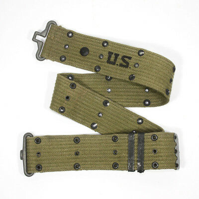 Original WW2 USMC US Army M1936 utility belt Marked and dated