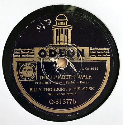 Billy Thorburn Orch. - THE LAMBETH WALK / I`ll never let you cry 1938