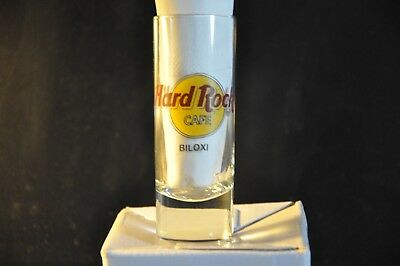 Hard Rock Cafe HRC Regular Logo Shot Glas BILOXI