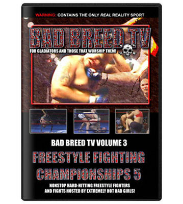 Bad Breed Volume 3 DVD [MMA UFC BJJ Magazine Ian Freeman Tim Sylvia] BRAND NEW!