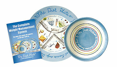 The Diet Plate® & Bowl FEMALE weight loss, the Original Portion Control Diet,