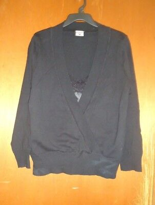 Black Motherhood Maternity Sweater Size L