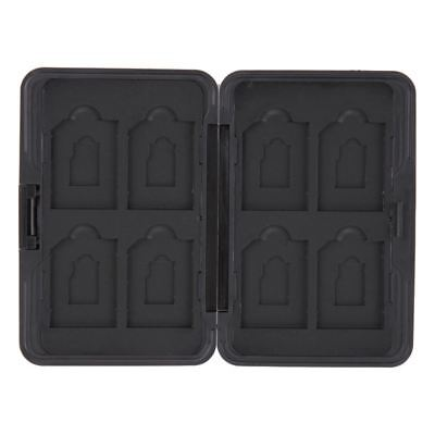 Portable Memory Cards Case Storage Holder Protector Aluminum Memory Card Storage