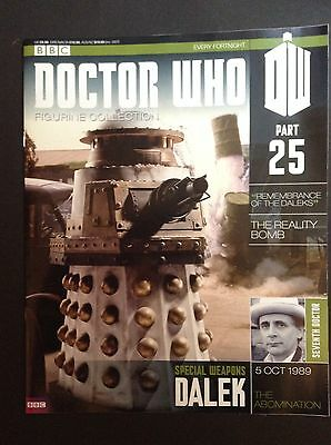 Doctor Who - Figurine Collection - issue 25 - Special Weapons Dalek (mag only)