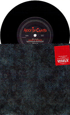 Alice In Chains -  Angry Chair / I Know Somethin - 7'' in snakeskin wallet