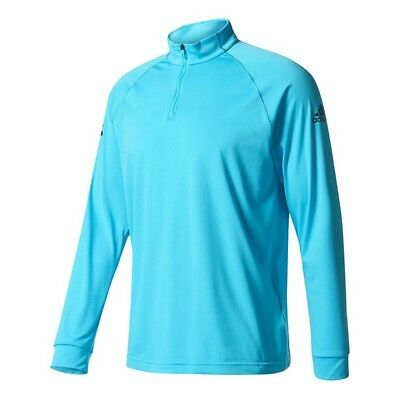 Adidas Mens Club Midlayer Climalite Tennis Top - Samba Blue | Navy | *S - XXL*