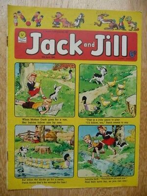 Collectible Jack and Jill Vintage Children's Comic - 18th April, 1964 - Fleetway