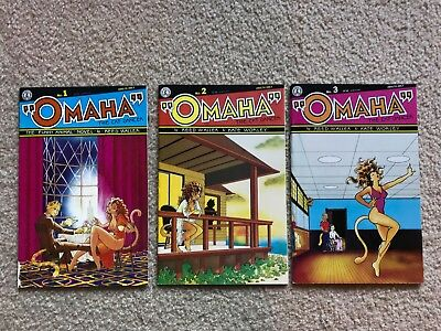 Omaha the Cat Dancer #1-3 MATURE