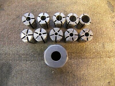 "Universal Engineering Acura Grip collet set and nut 3/8"" series"