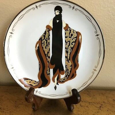 Franklin Mint House of Erte *Mystic* Ltd Edition Collector Plate # RA 1173