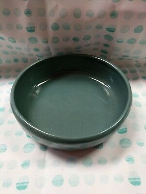 """Teal Blue Bybee Pottery Serving Bowl - 8"""" x 2-1/2"""""""
