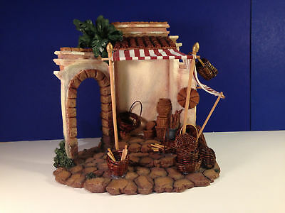 "Fontanini THE BASKET SHOP #50522 Village Nativity 5"" Collection w/ Box"