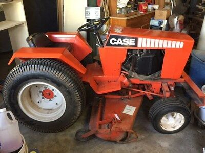 1983 Case 446 16 H.P. Garden Tractor with 3 Point Hitch and Accessories