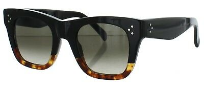 6e79df716698 Celine Women s CL 41089 S Black Tortoise Fade-FU5 Z3 Sunglasses 47mm ITALY
