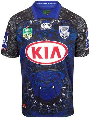 Canterbury Bulldogs 2018 Dogs of War Jersey  Sizes S-6XL BNWT