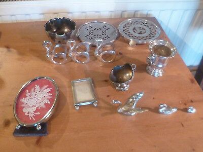 Fantastic Large Job Lot Collection of Antique & Vintage Silver Plated Items