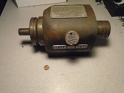 Heald Red Head 187-1 Max 13000 RPM Spindle