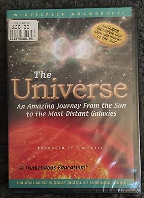 The Universe An Amazing Journey From the Sun to the Most Distant Galaxies DVD Ne
