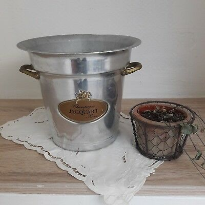Seau a champagne Jacquart / Old french ice champagne bucket