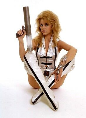 Barbarella Jane Fonda 10X8 Inch Photo