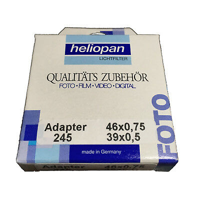 [New] Heliopan 39-46mm Step-up Ring (Black) 700245