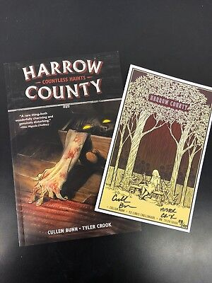Harrow County Vol 1 - Ex Libris Challengers EXCLUSIVE Signed Bookplate