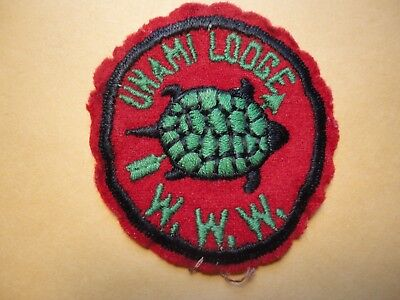 Old UNAMI Lodge Order of the Arrow Patch