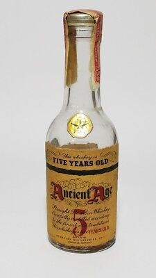 Miniature Whiskey Bottle Ancient Age 5 Year Old