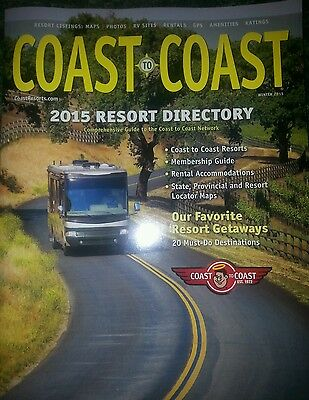 Coast to Coast Deluxe & RPI Preferred Resale Campground Membership