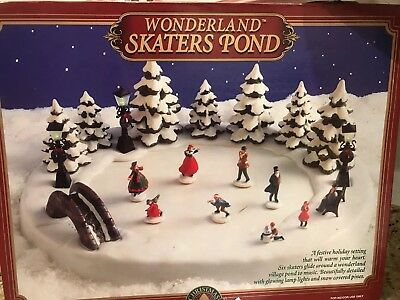 Christmas Wonderland skaters pond animated musical 1996 christmas fantasy L.T.D