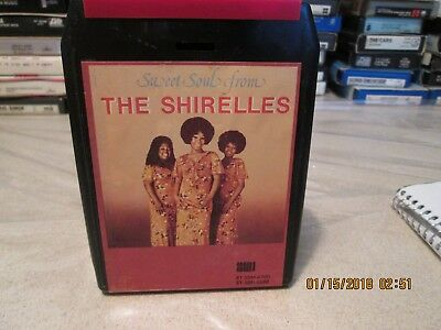8 Track Tape-Sweet Soul From The Shirelles-Their Greatest Hits