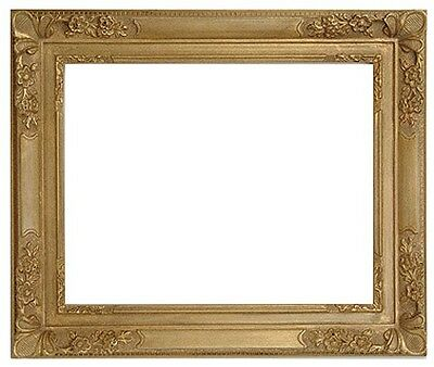 20 x 24  Picture Frame HandApplied Gold Leaf Finish real beauty Baroque Frame