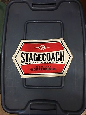 Stagecoach festival Patch Large