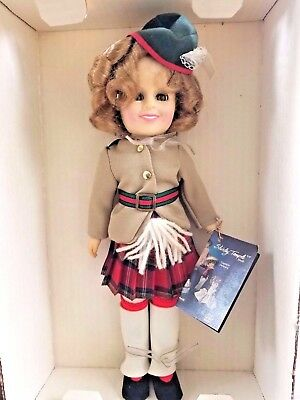 "1982  IDEAL SHIRLEY TEMPLE  ""WEE WILLIE WINKIE"" Collectible DOLL   NIB"