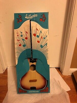 Vintage Jefferson Toy  Guitar with box