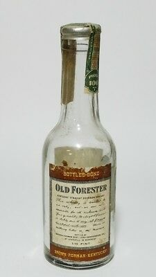 Miniature Whiskey Bottle Old Forester