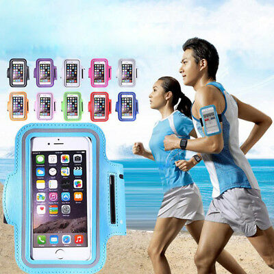 Universal Cell Phone Sports Arm Bag Holder Running Fitness Strap Pouch Pocket
