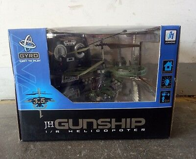 Gunship Helicopter with Gyro RTF infared - Army Green