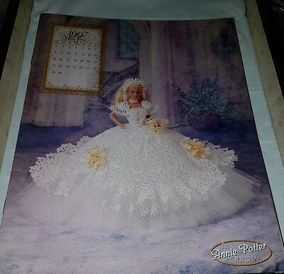 Jn006 Annie Potter's 1997 The Royal Ballgowns, Miss June ~ Crochet Pattern