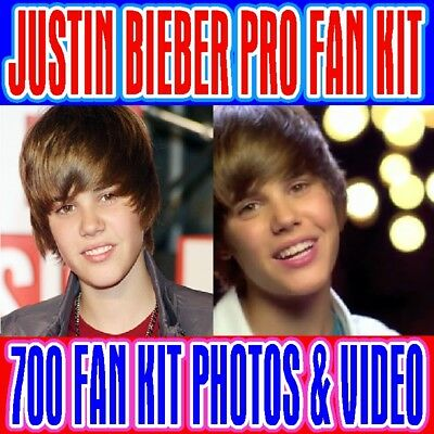 700 Justin Bieber Fan Kit Pro The Most Handsome Man In The World Photo Wow L00K