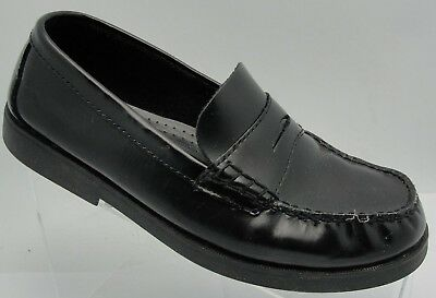 507622dfc07 Sperry Top-Sider Colton Patent Leather MocToe Penny Loafer Black Boys Size  7M
