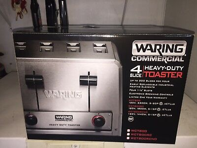 Waring Commercial WCT800 Heavy Duty Commercial Toaster