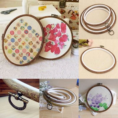 Wooden Embroidery Cross Stitch Ring Hoop Frame Cross Stitch Display
