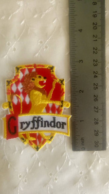 Gryffindor On Embroidery Patch Harry Potter Hogwarts Magic Castle