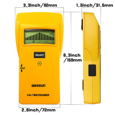 Stud Finder 3 in 1 LCD Digital Multi-scanner Stud Center Finder Handheld Tool