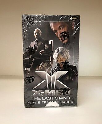 X-Men The Last Stand Movie X3 - Sealed Trading Card Hobby Box - Rittenhouse 2006